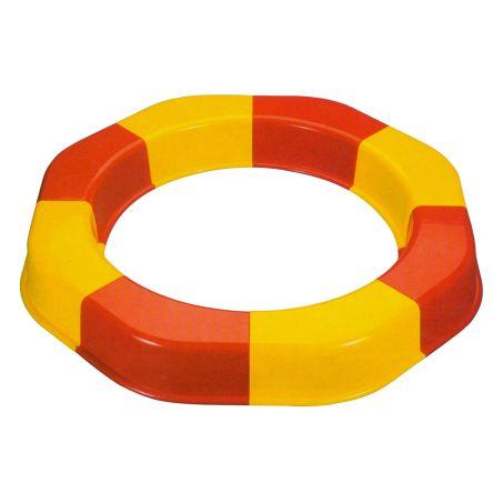 Ronde zandbak ring