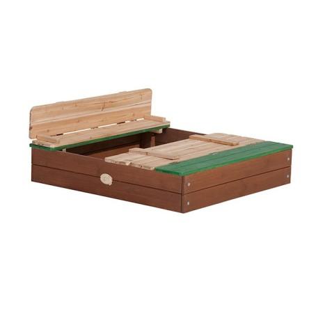 Zandbak van hout
