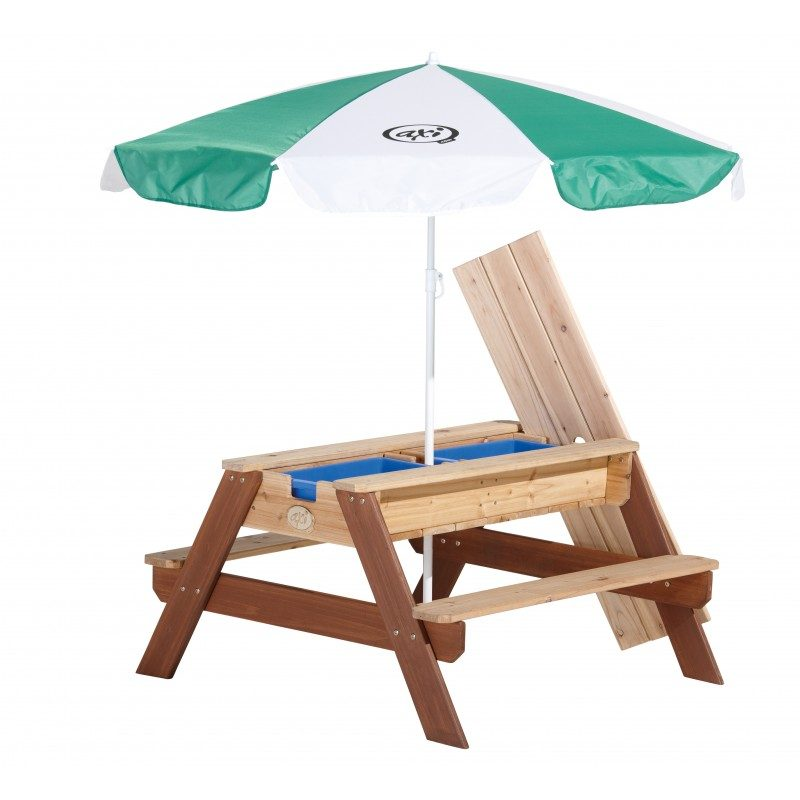 Axi Nick zandtafel watertafel picknicktafel parasol