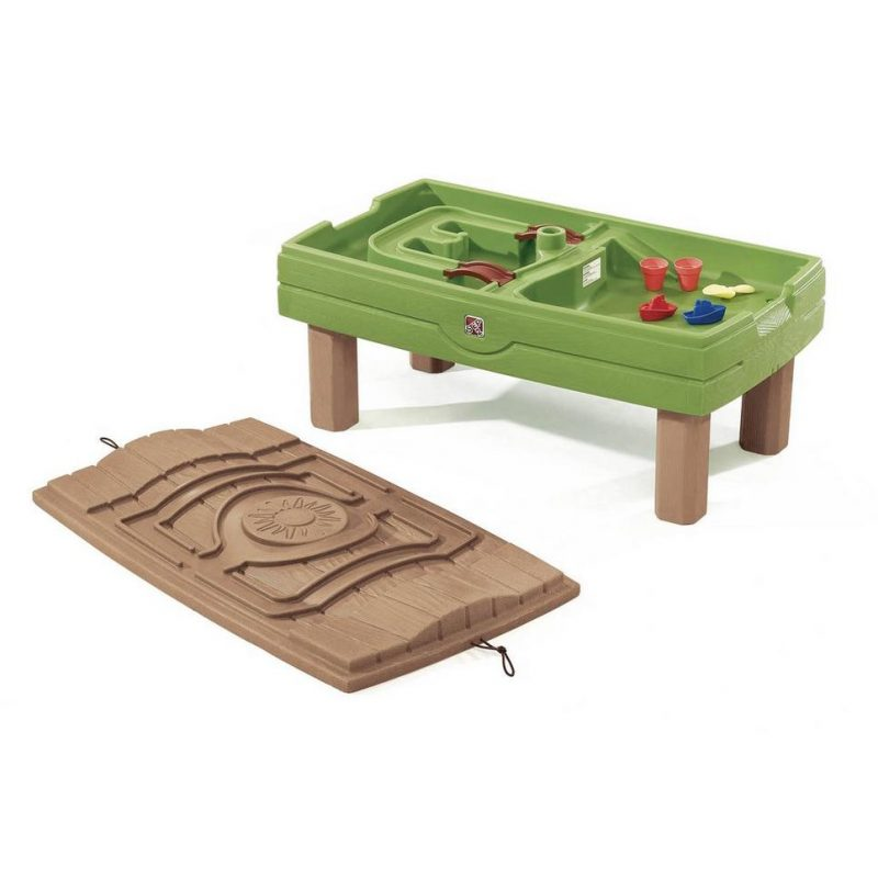 Grote zand- en watertafel met deksel - Activity Center - Step2