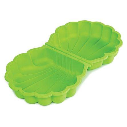 zandbak-schelp-groen