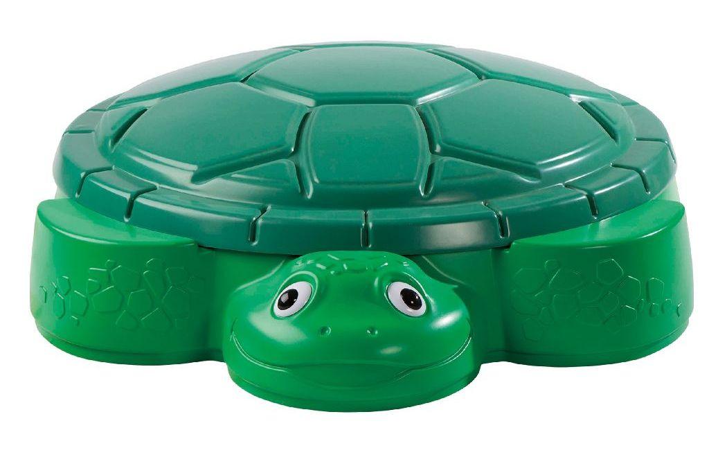 De populaire zandbak schildpad van Little Tikes