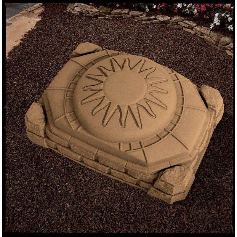 Naturally Playful Plastic zandbak met deksel
