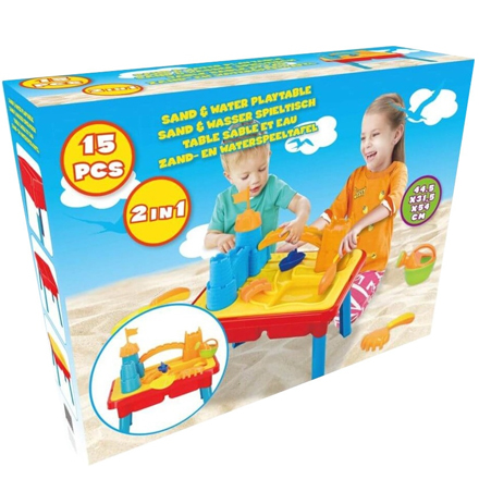 Zand- en watertafel Eddy Toys