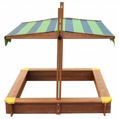 Lily houten zandbak met dak Axi