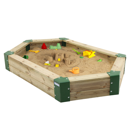 Hörby Bruk zandbak 210 x 110 x 25 cm