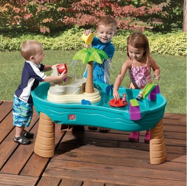 Splish Splash Seas Watertafel met palmboom