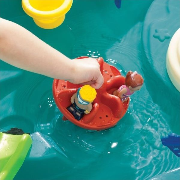 Splish Splash Seas Watertafel waterrad met speelfiguurtjes